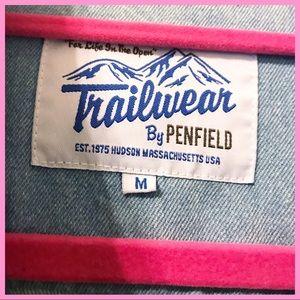 Madewell Jackets & Coats - PENFIELD X MADEWELL   Denim & Flannel Jacket
